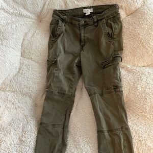 Women's Green Cargo Pants